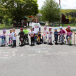 Small Wonders Day Care School students ride to benefit St. Jude Children's Research Hospital