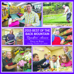 Best of Back Mountain Readers Choice 2015