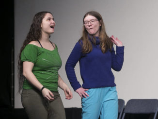 After School Players prepare to present 'While Shakespear Slept'