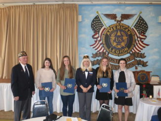 American Legion honors winners of annual Essay Contest and Oratorical Contest