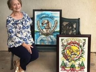 Rosemary Luksha to display ballet posters at Back Mountain Memorial Library