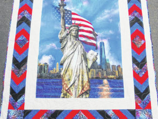 118 Fabrics in Sweet Valley participates in Quilts of Valor program