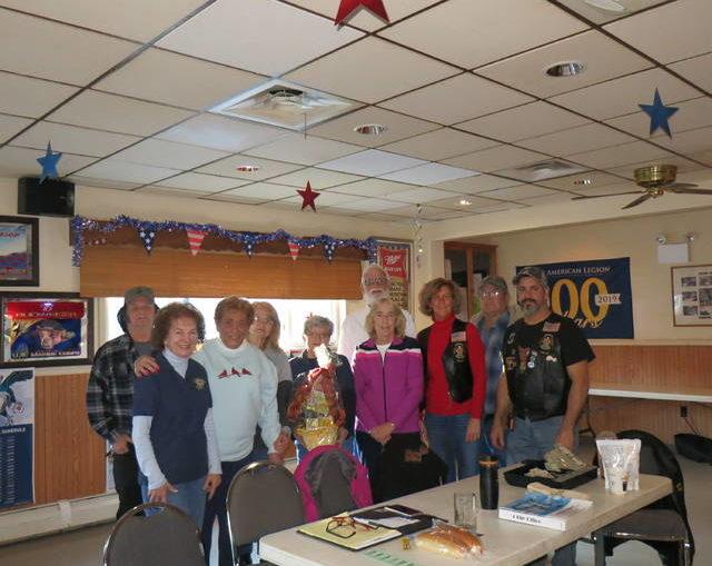 Dallas American Legion Post 672 holds annual turkey raffle