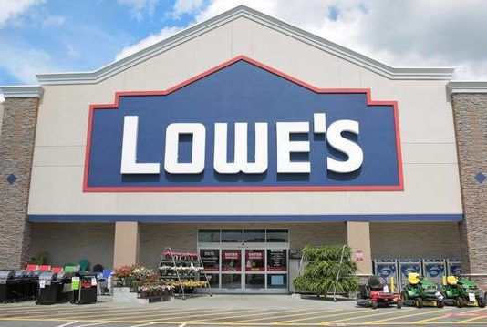 A Lowe's retail store is seen in this file photo. As the busy season for home improvement continues, Lowe's is getting set to hire more than 90 new full-time associates at its distribution center in Pittston.                                  File photo
